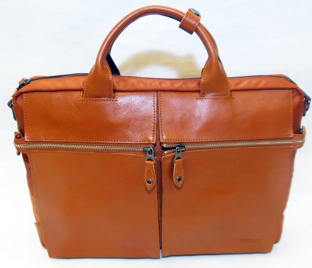 ムスタッシュ2ポケットビジネスバッグ